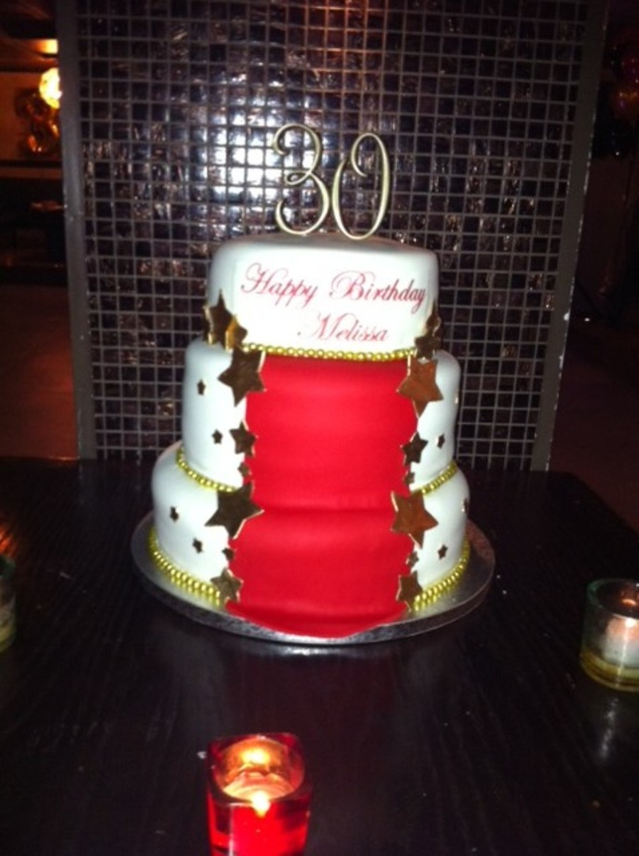 Red Carpet Cake  on Cake Central