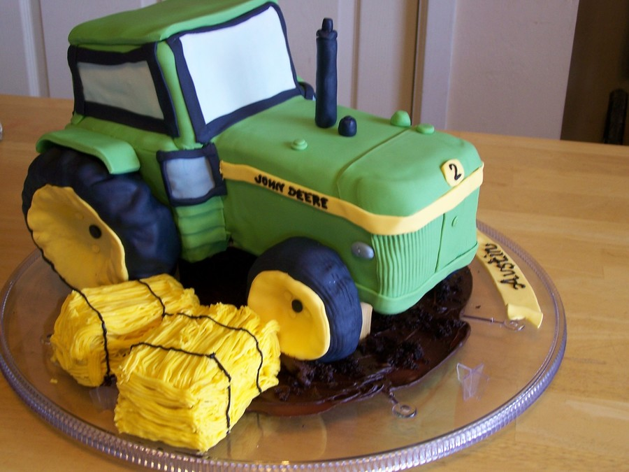 John Deere All The Way! on Cake Central