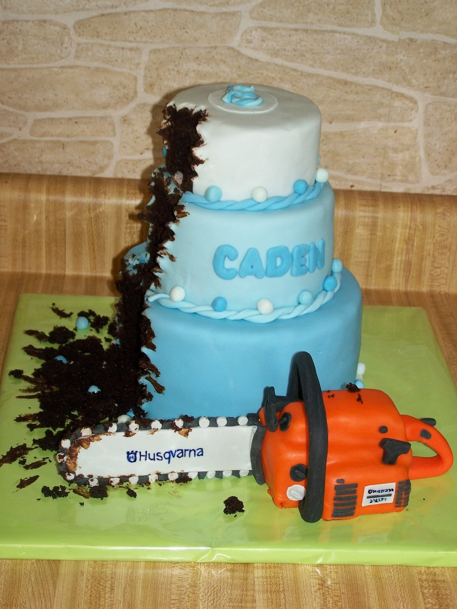 The Chainsaw Massacre  on Cake Central