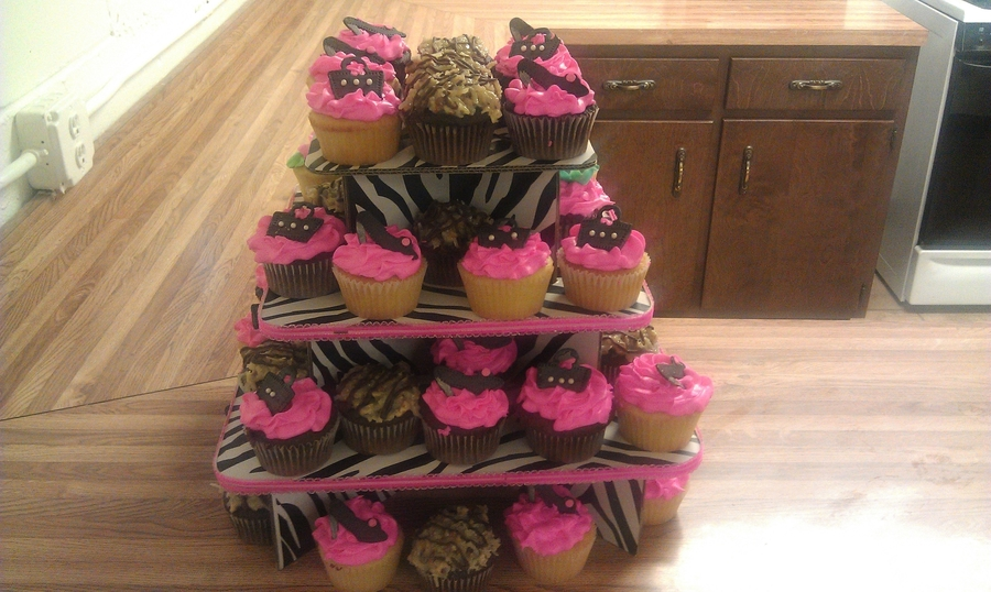 Zebra Bridal Shower on Cake Central