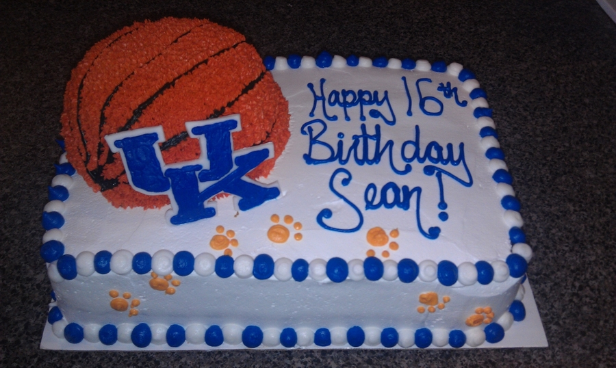 Kentucky Wildcats Birthday Cake on Cake Central