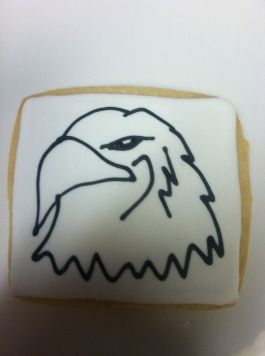 Eagle Sugar Cookie  on Cake Central