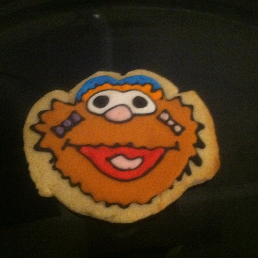 Zoe Sesame Street Sugar Cookie on Cake Central