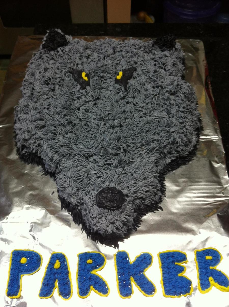 Wolf Cupcake Cake  on Cake Central