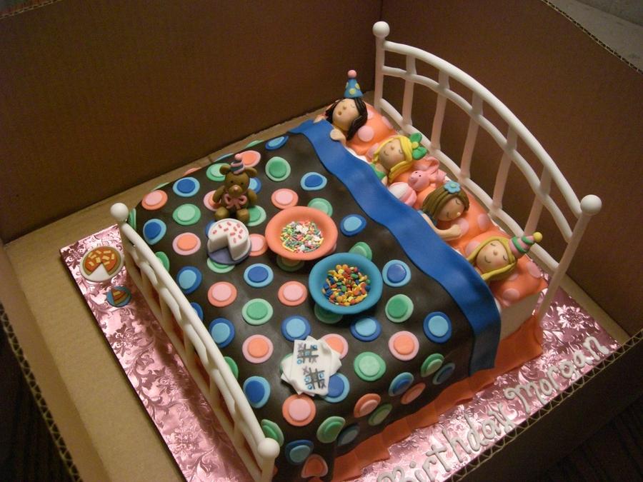 Slumber Party Cake - CakeCentral.com