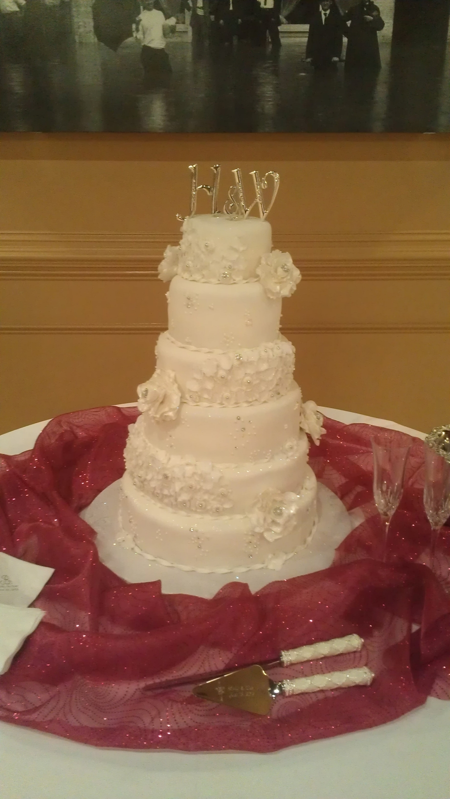 Ruffles And Lace on Cake Central