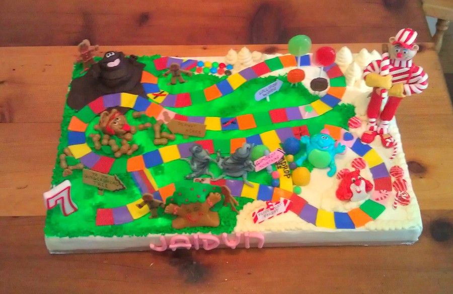 Everyone Loves Candy Land! on Cake Central