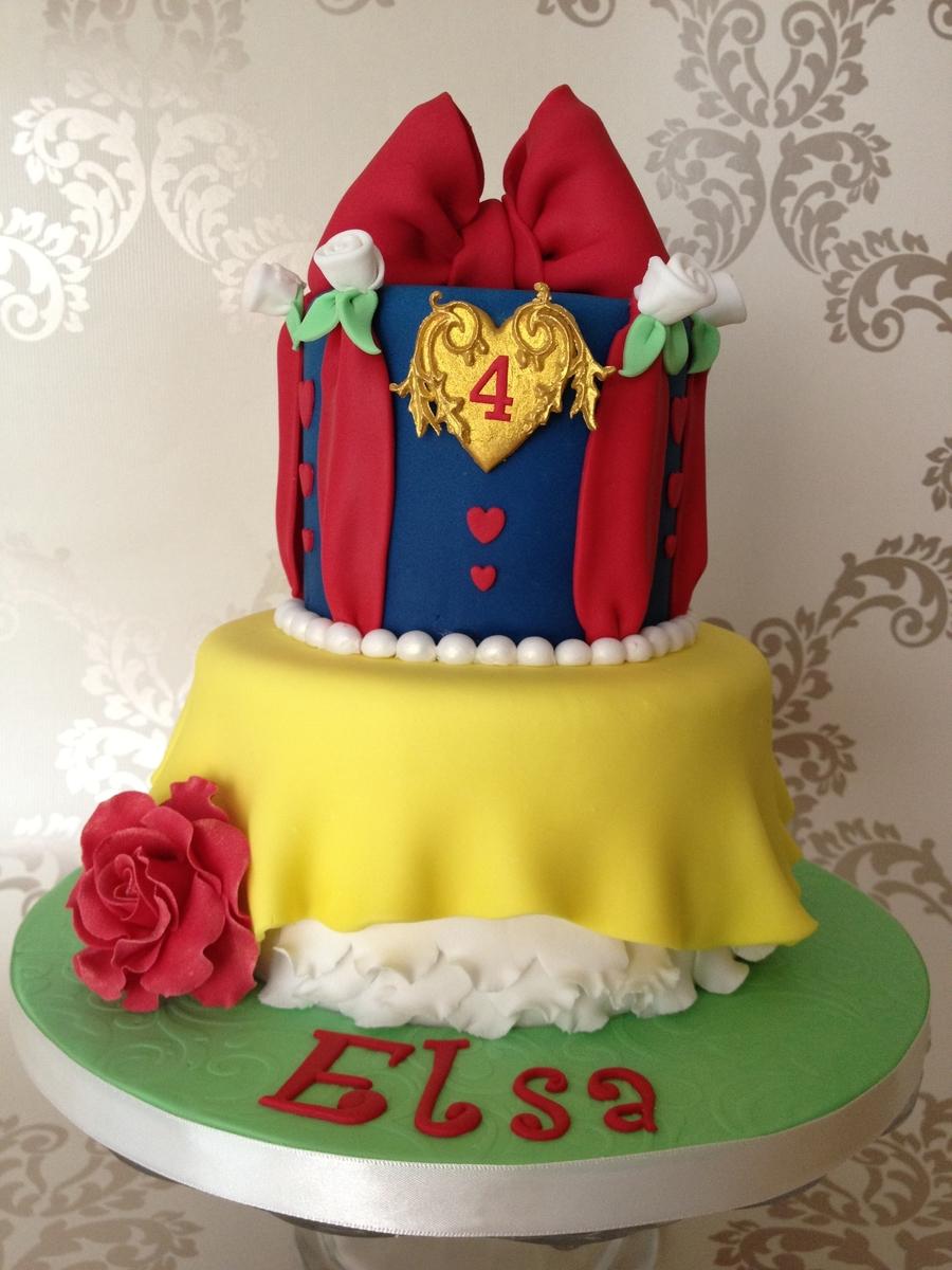 Snow White Birthday Cake Images