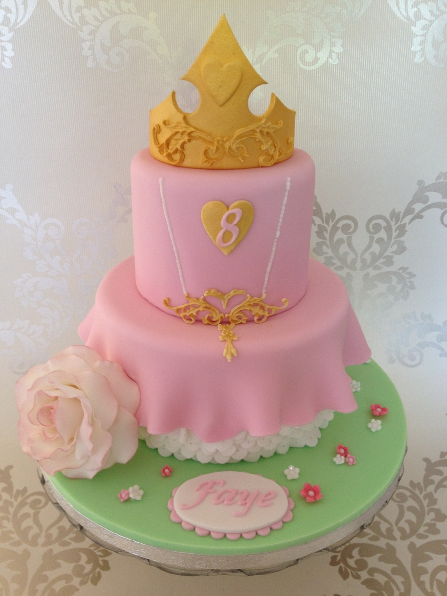 Sleeping Beauty Cake  on Cake Central