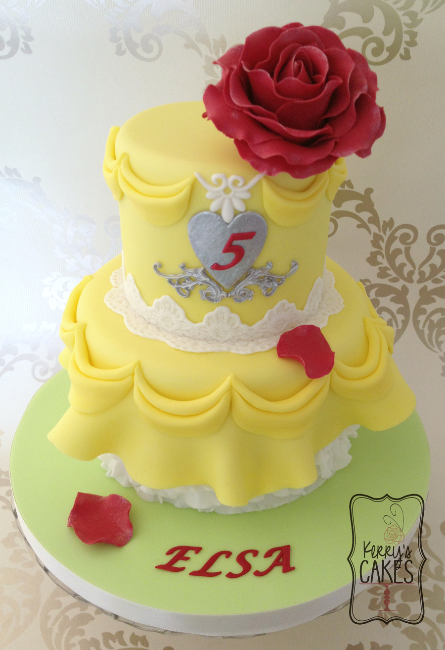 Princess Belle Cake Ideas
