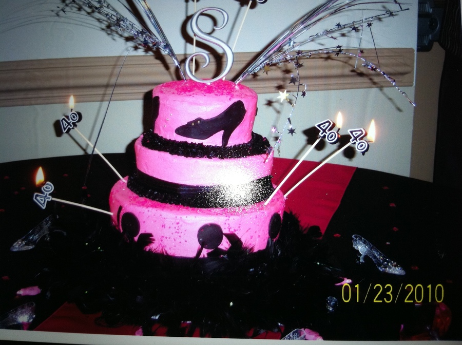 Fabulous 40 Birthday Cake Cakecentral
