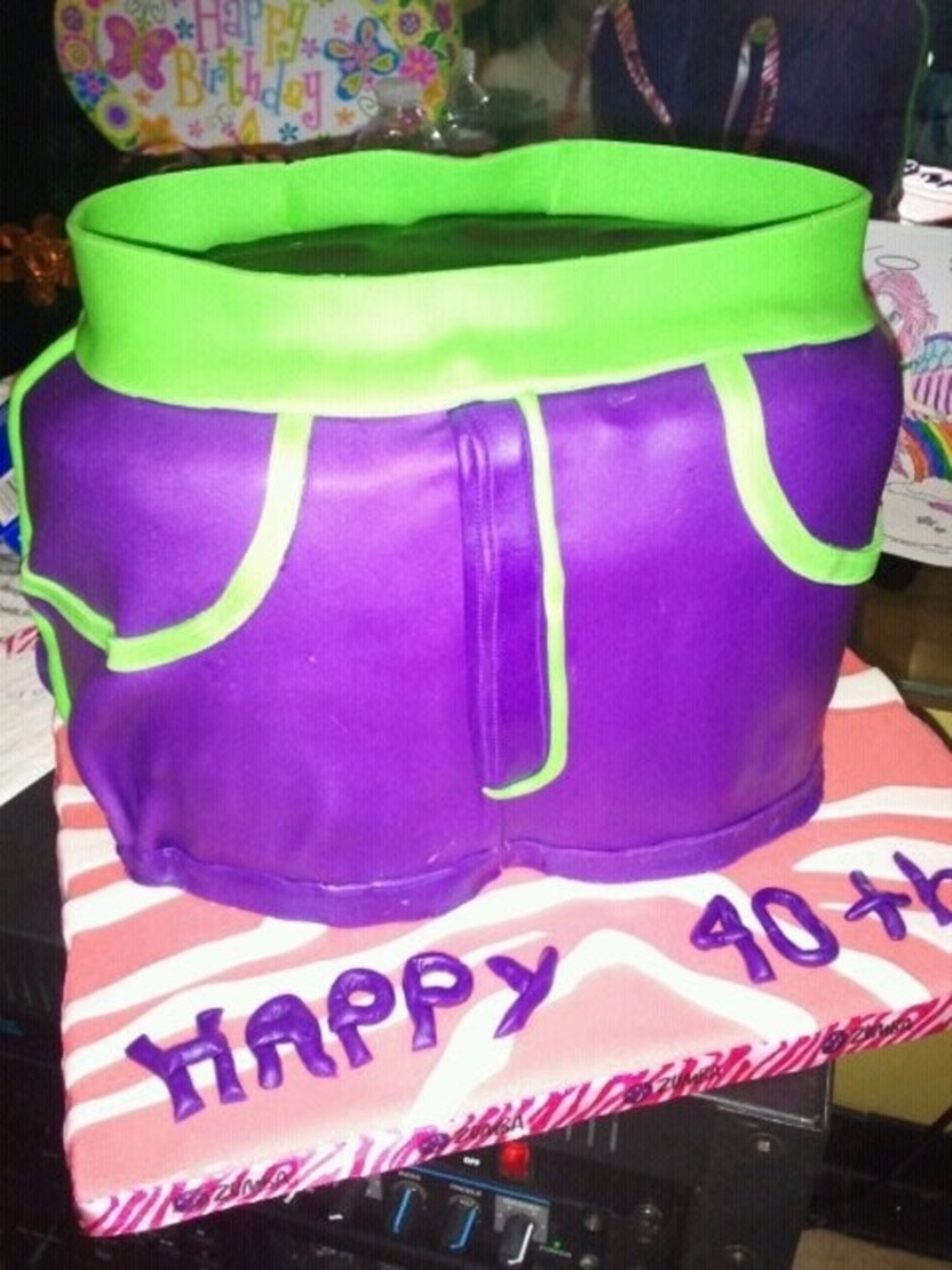 Zumba Workout Birthday Cake Cakecentral