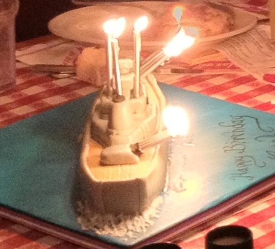 Battleship Birthday Cake Cakecentral Com