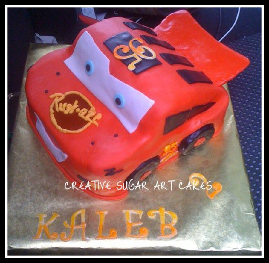 Cars... Lightning Mcqueen on Cake Central