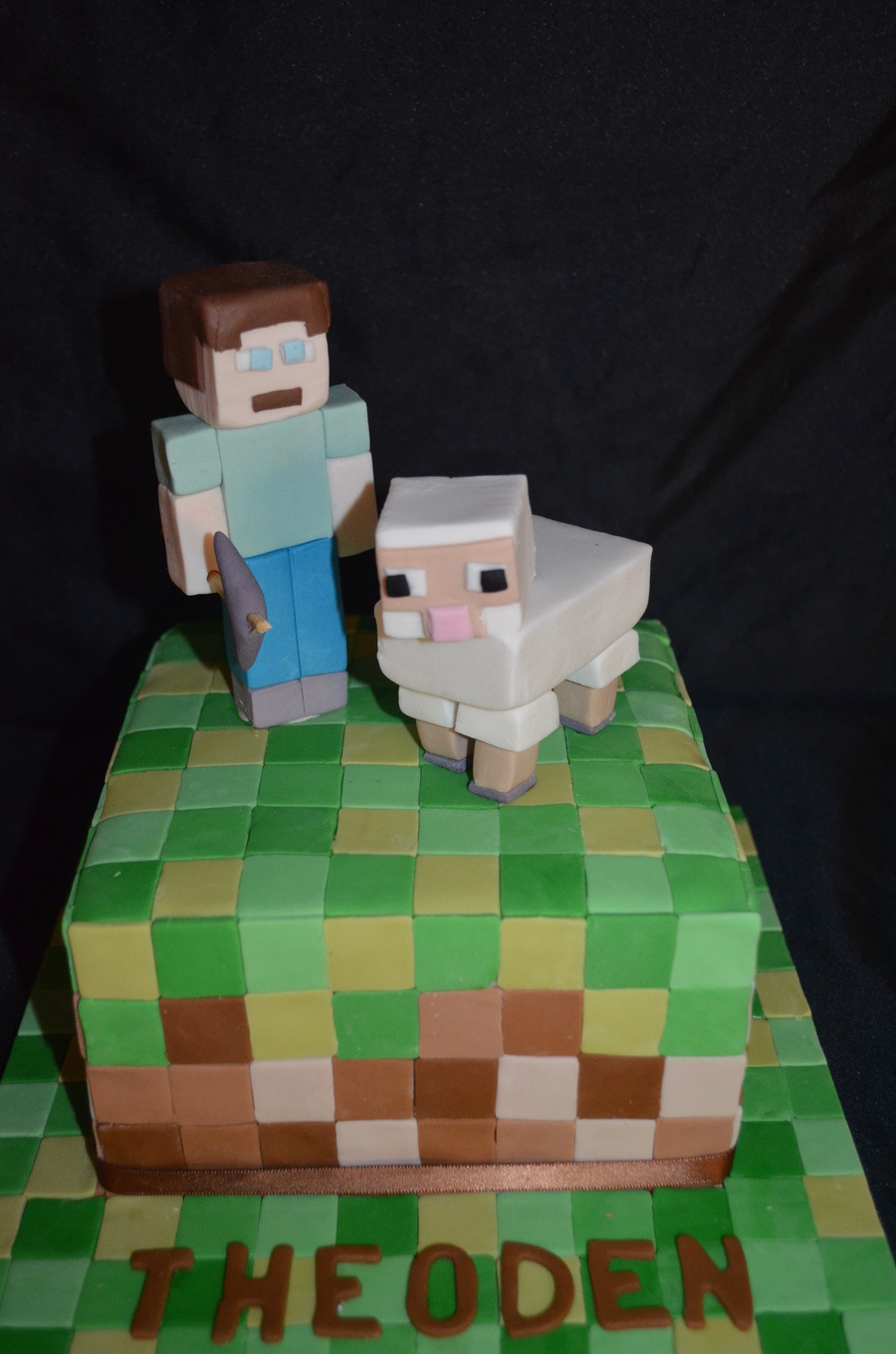 Mine Craft on Cake Central