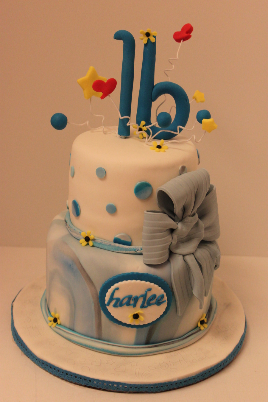 Harlee's Sweet 16 on Cake Central