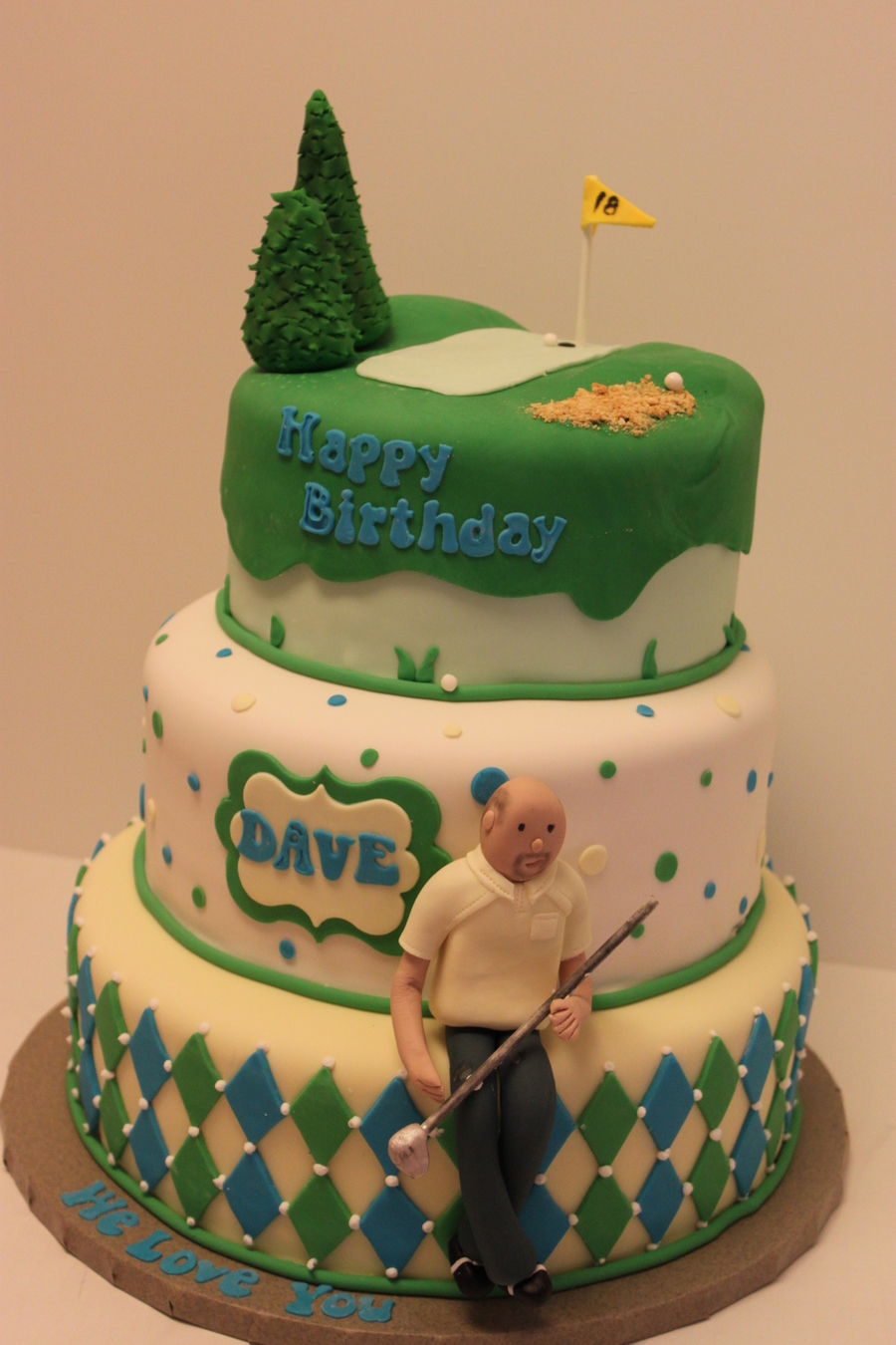 The Golfer Has A Birthday! on Cake Central