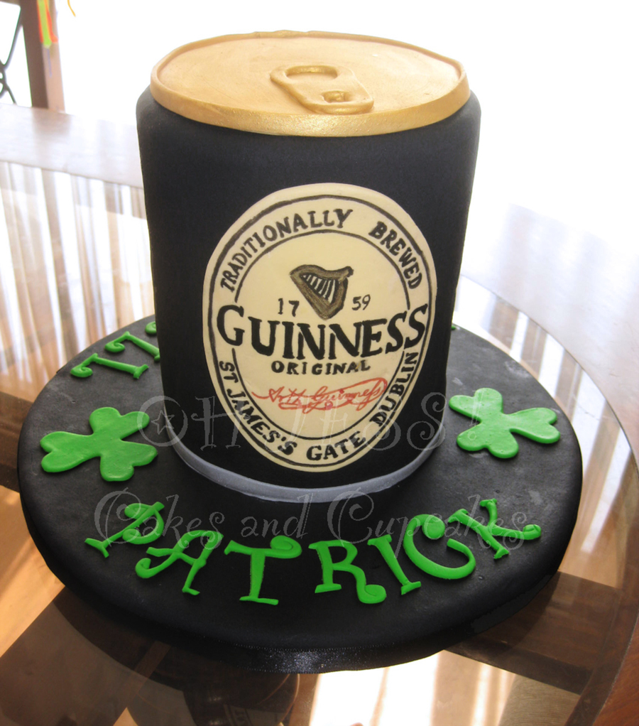 Farewell Guinness Cake on Cake Central