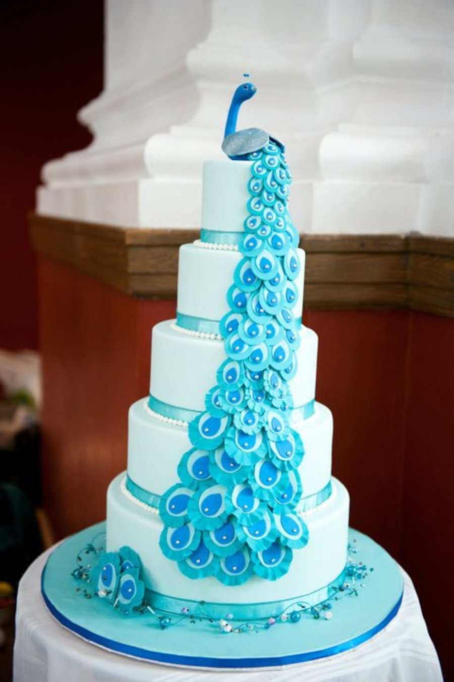 Peacock Themed Cake Cakecentral Com