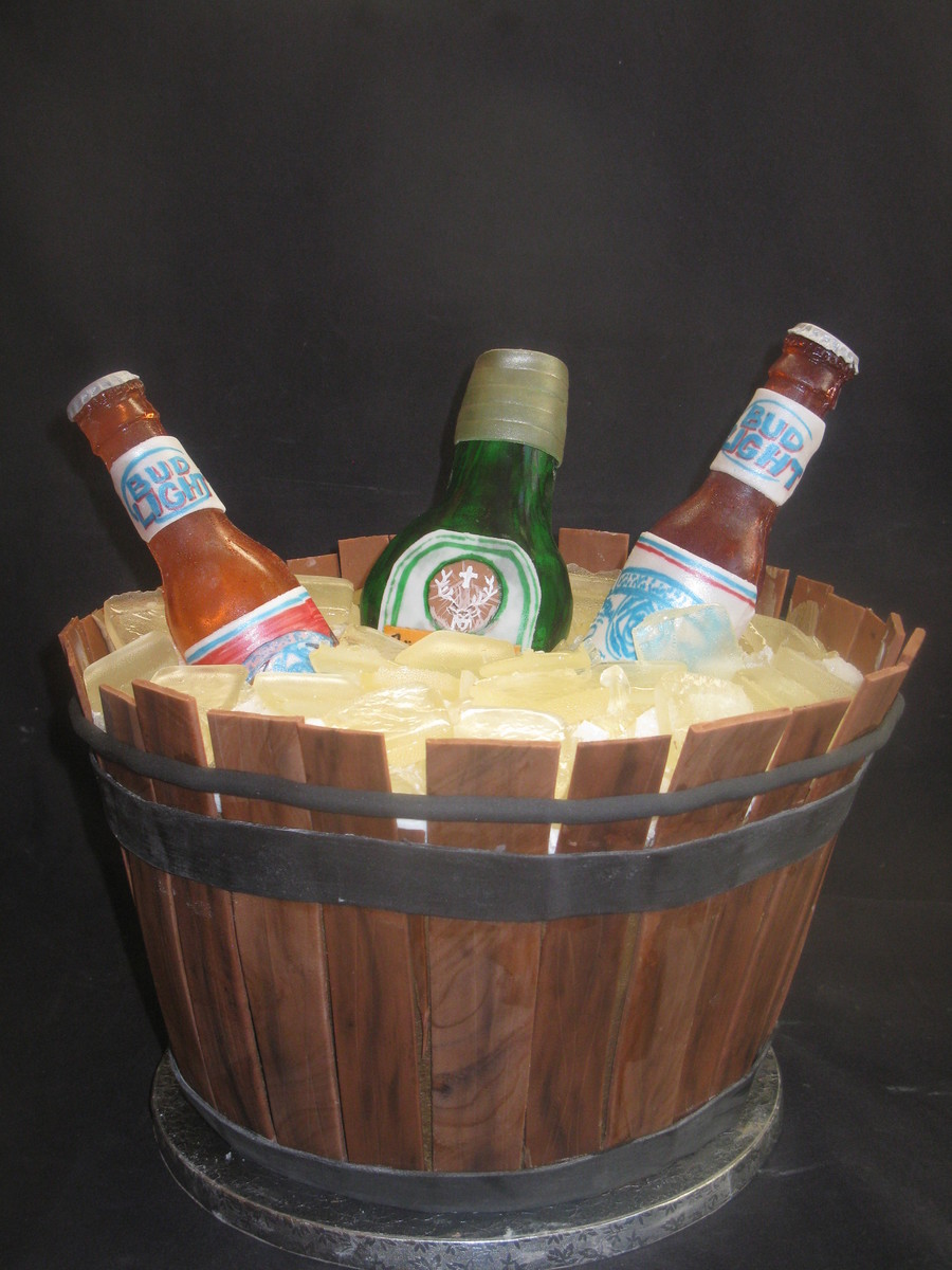 Barrel Of Beer on Cake Central