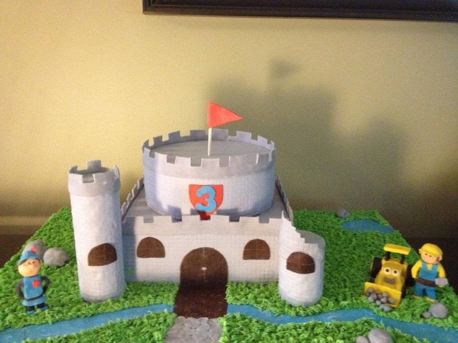 Mike The Knight/bob The Builder on Cake Central