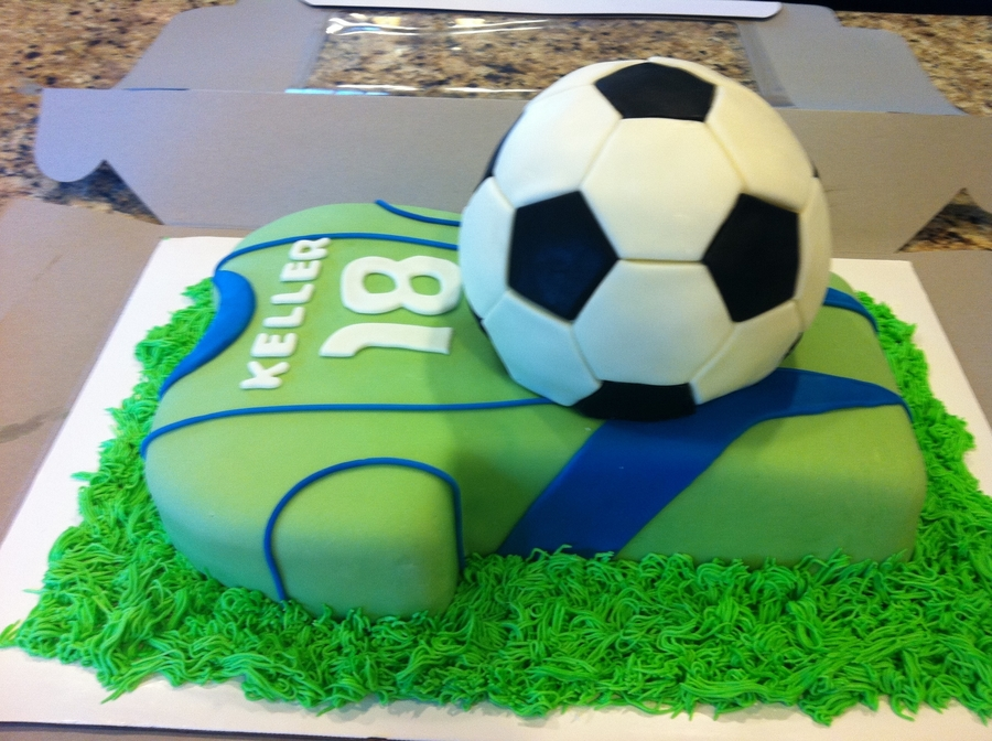 Sounders Soccer Cake on Cake Central