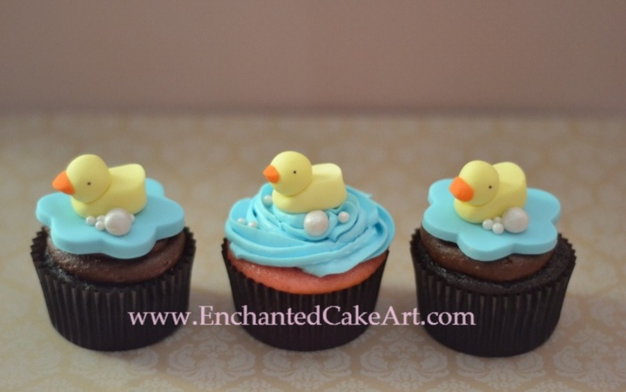 Rubber Duck Cupcakes... on Cake Central