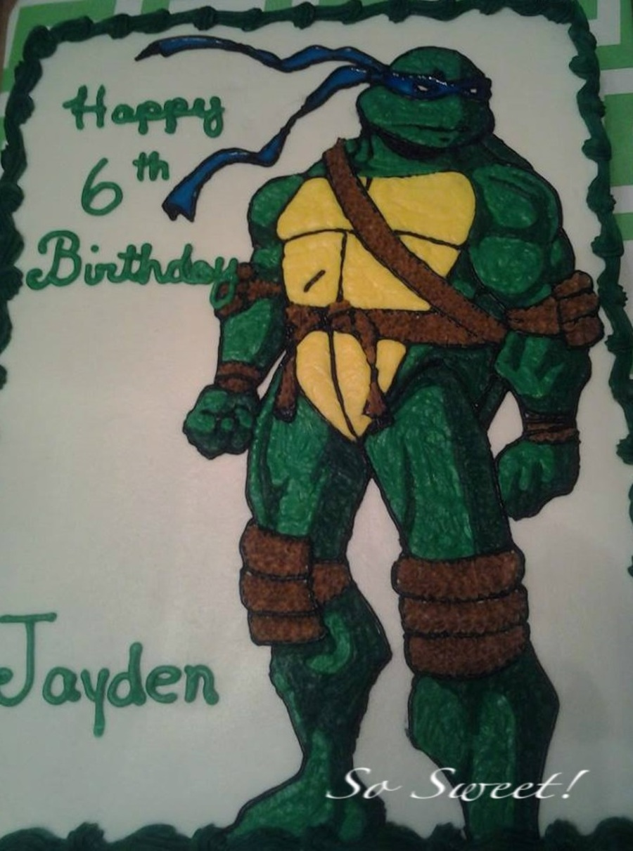 Teenage Mutant Ninja Turtles Leonardo Cakecentral