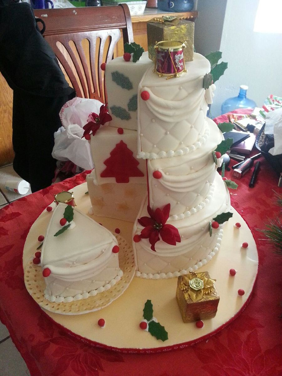 Merry Christmas!!!!!!!!!!! on Cake Central