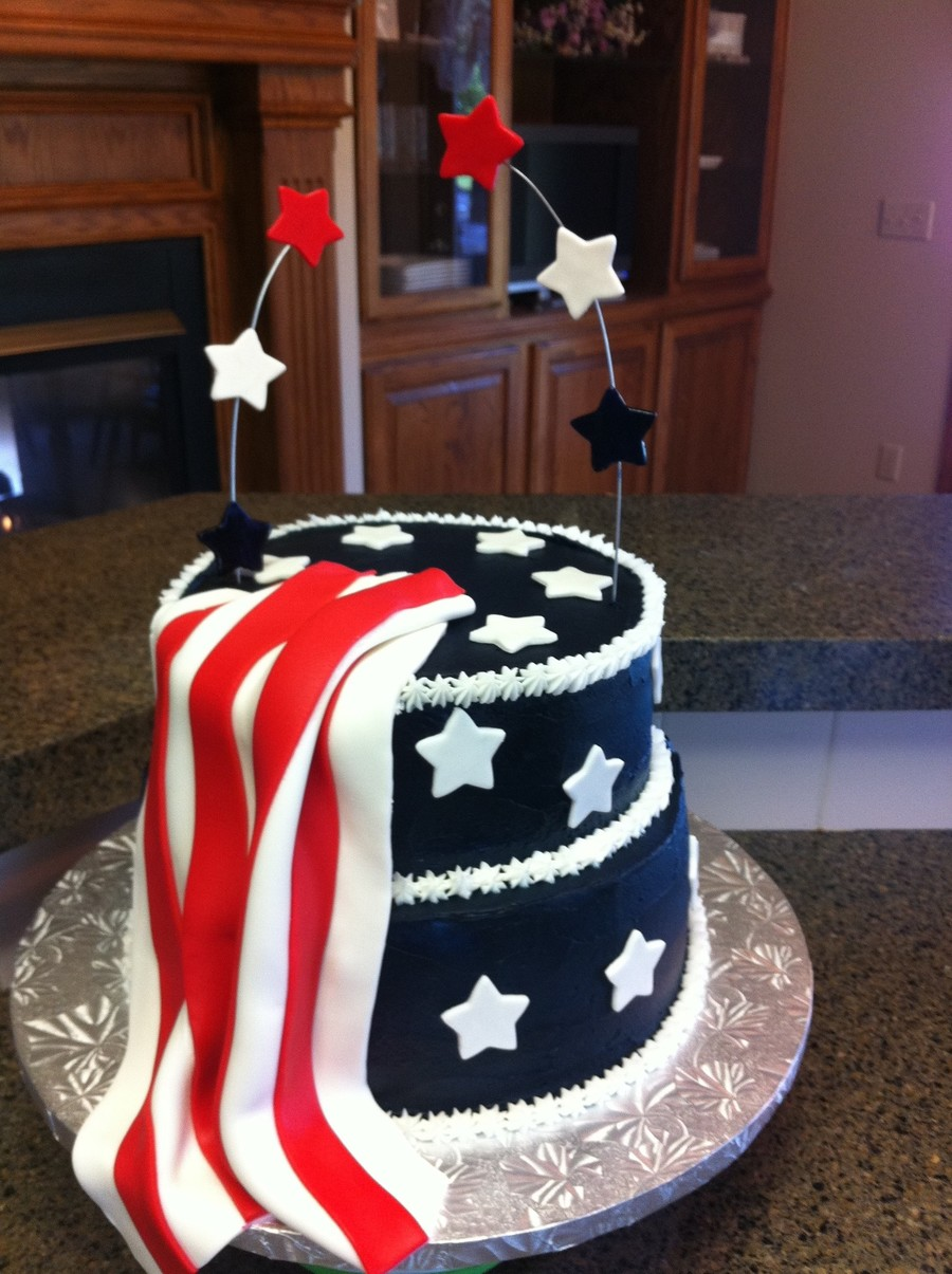 2011 4Th Of July Cake on Cake Central