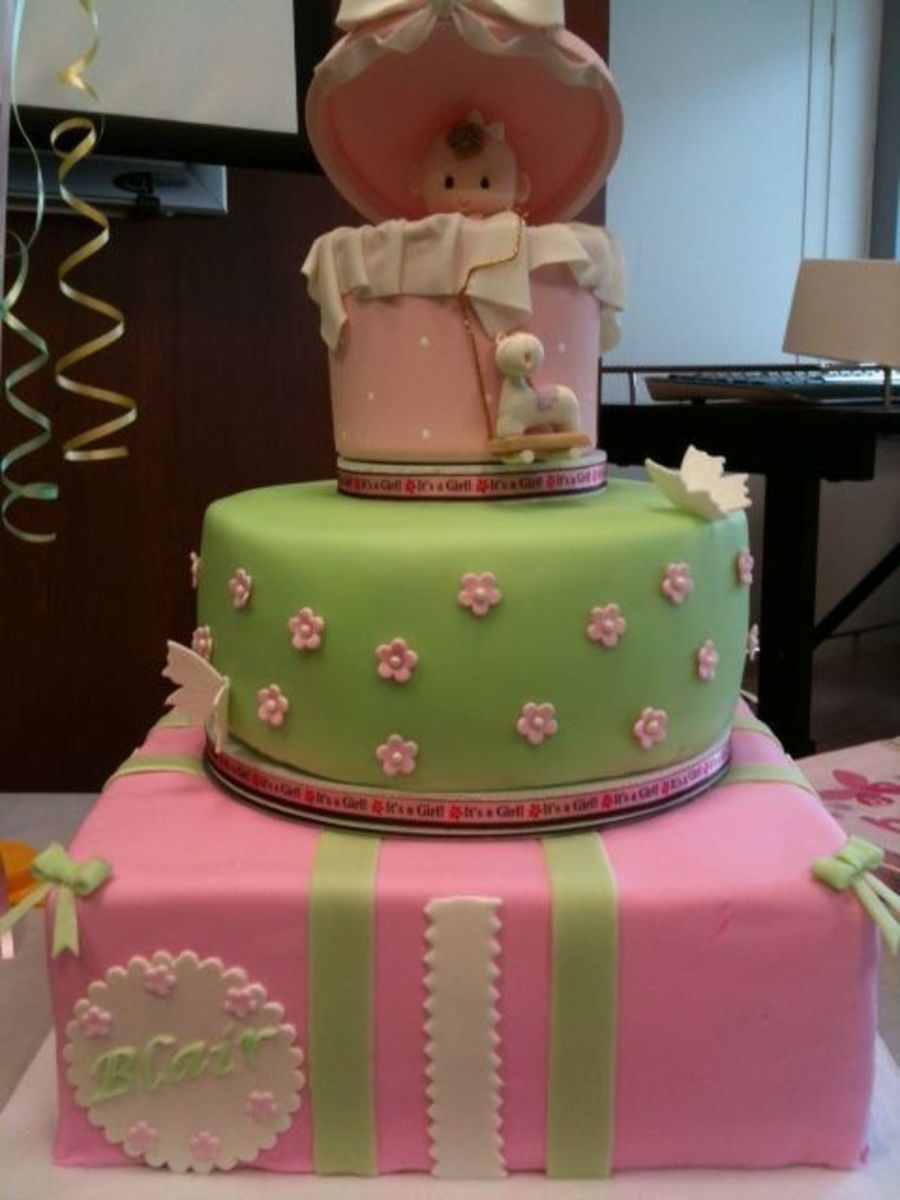 Baby Girl! on Cake Central