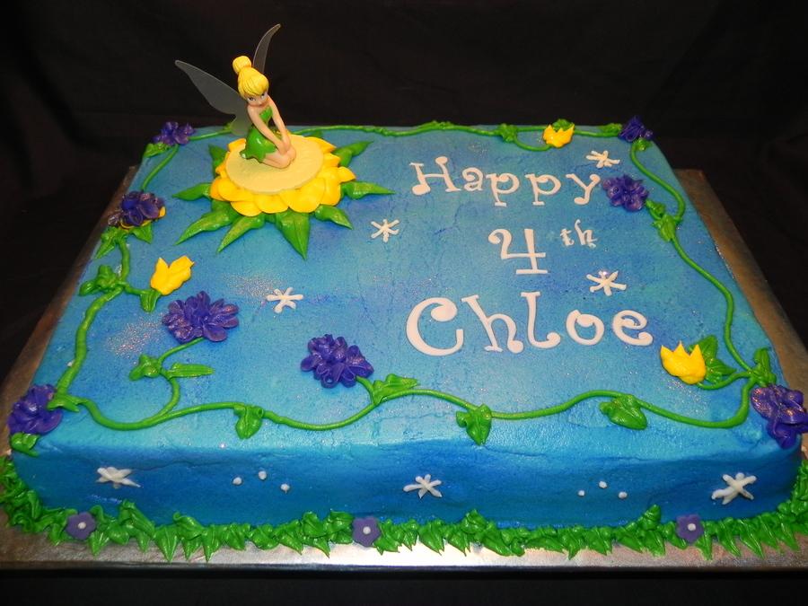 Tinker Bell Birthday Cake Cakecentral