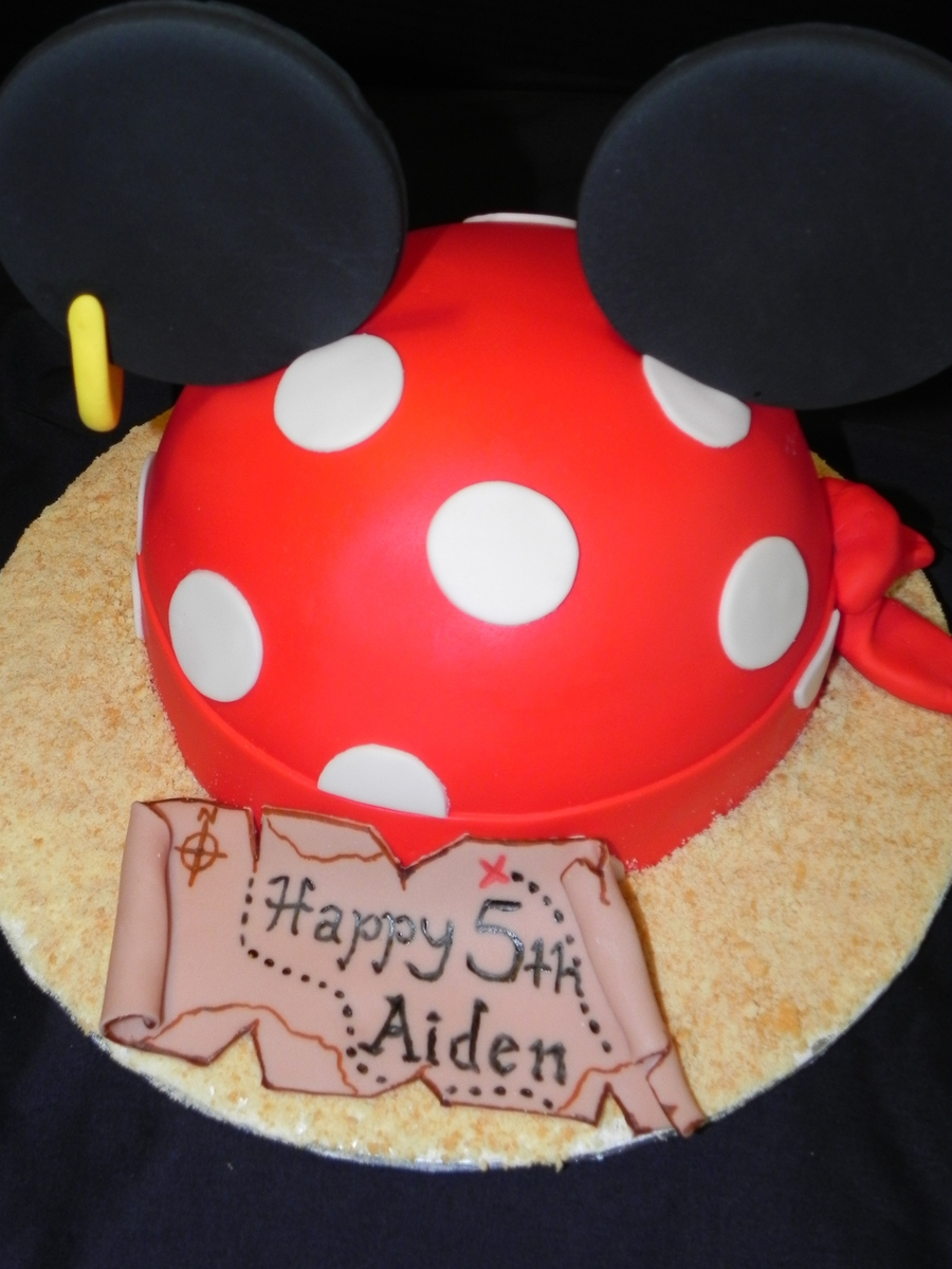Pirate Mickey on Cake Central