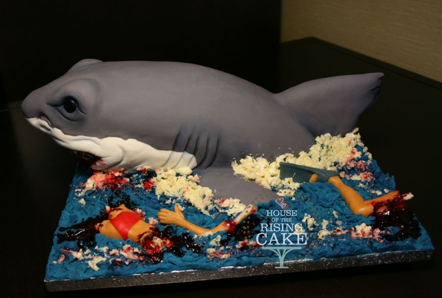 Shark Cake Cakecentral Com