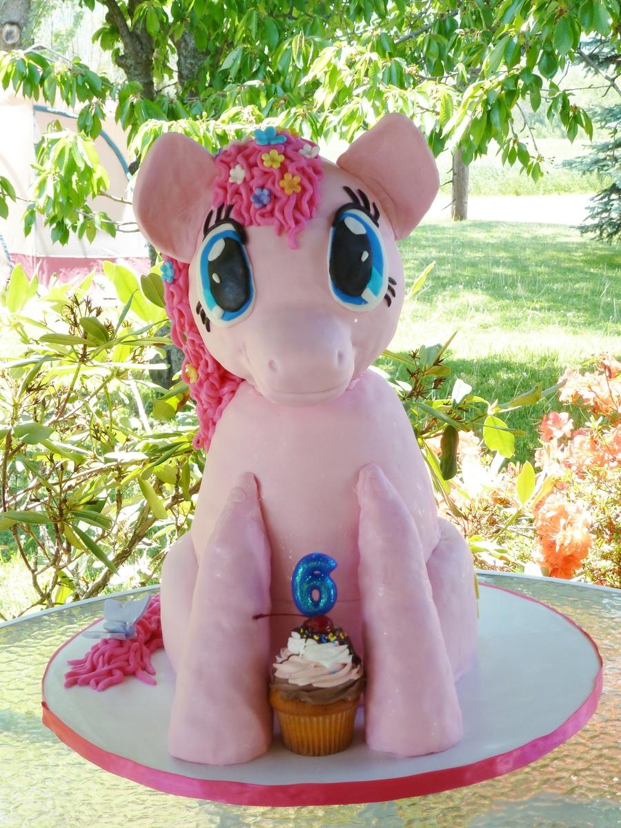 Pinkie Pie My Little Pony Friendship Is Magic CakeCentralcom