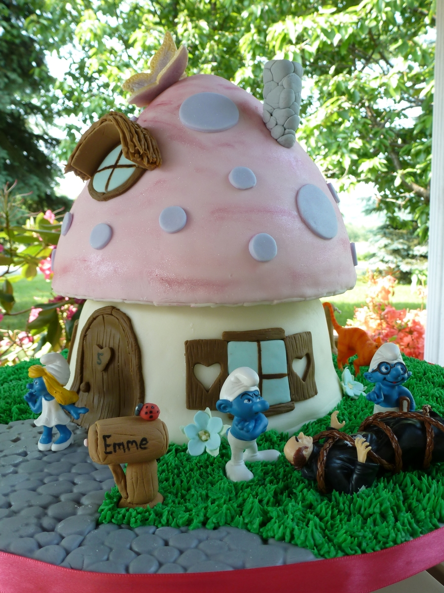 The Smurf House Cakecentral Com