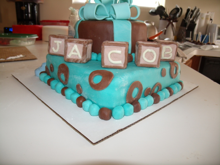 Baby Boy!  on Cake Central