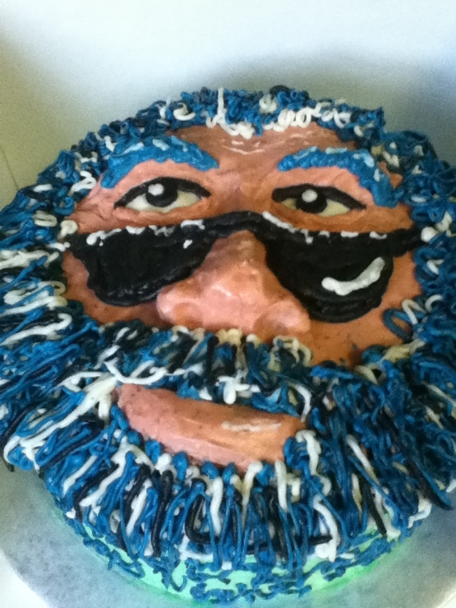 Jerry Garcia on Cake Central