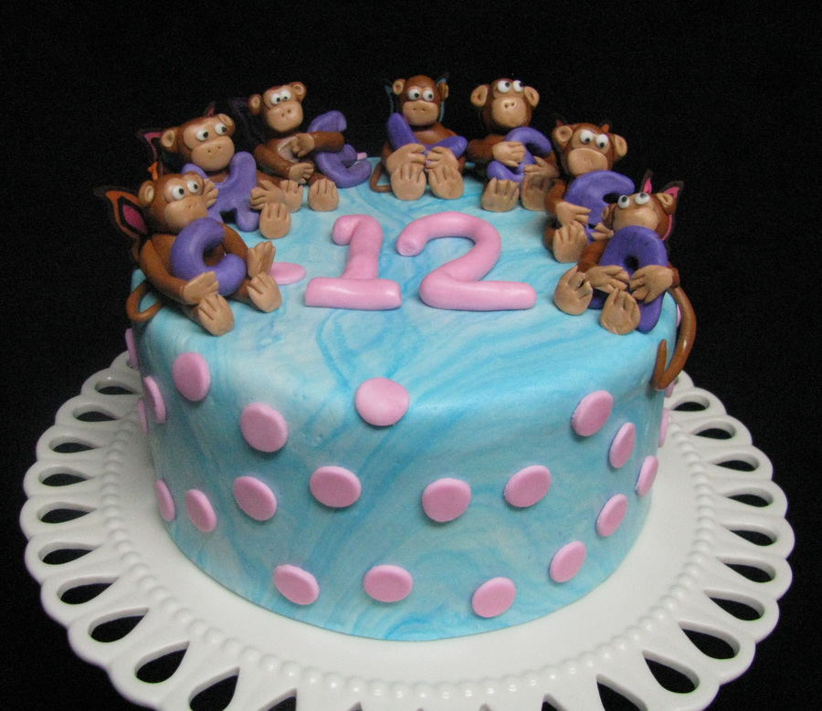 Butterfly Monkeys on Cake Central