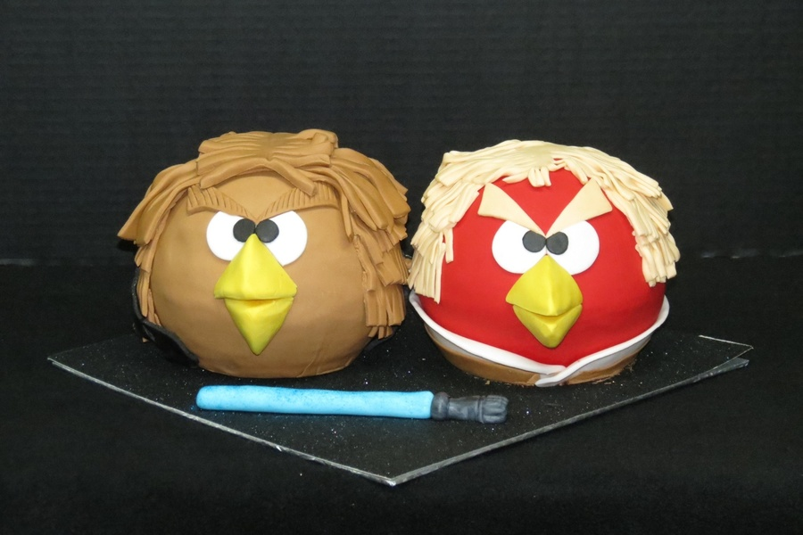 Star Wars Angry Birds on Cake Central