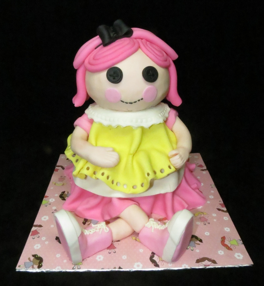 Lalaloopsy Crumbs Sugar Cookie on Cake Central