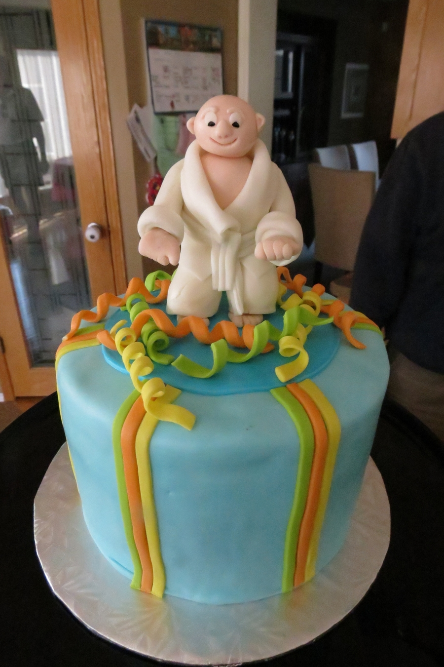 Tae Kwon Do Dad on Cake Central