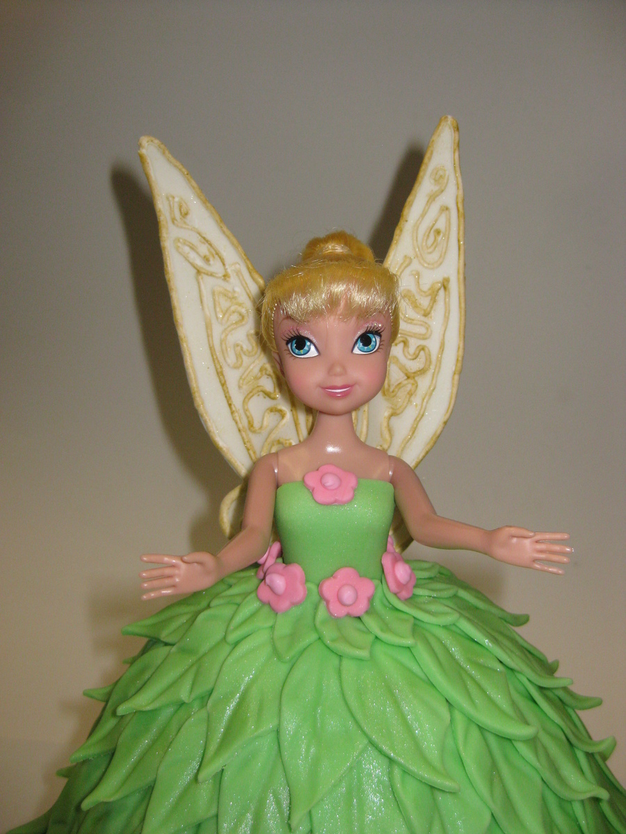 Tinkerbell Doll Cake - CakeCentral.com