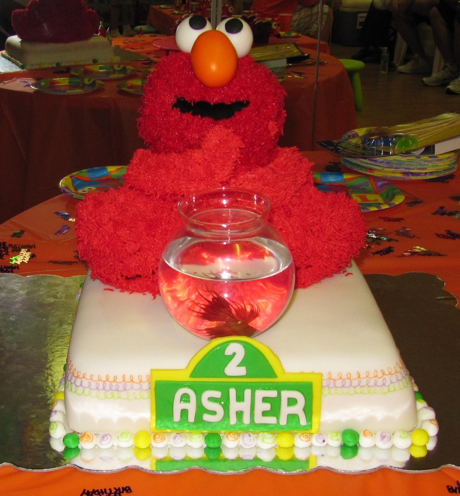 Elmo Birthday Party Cake on Cake Central