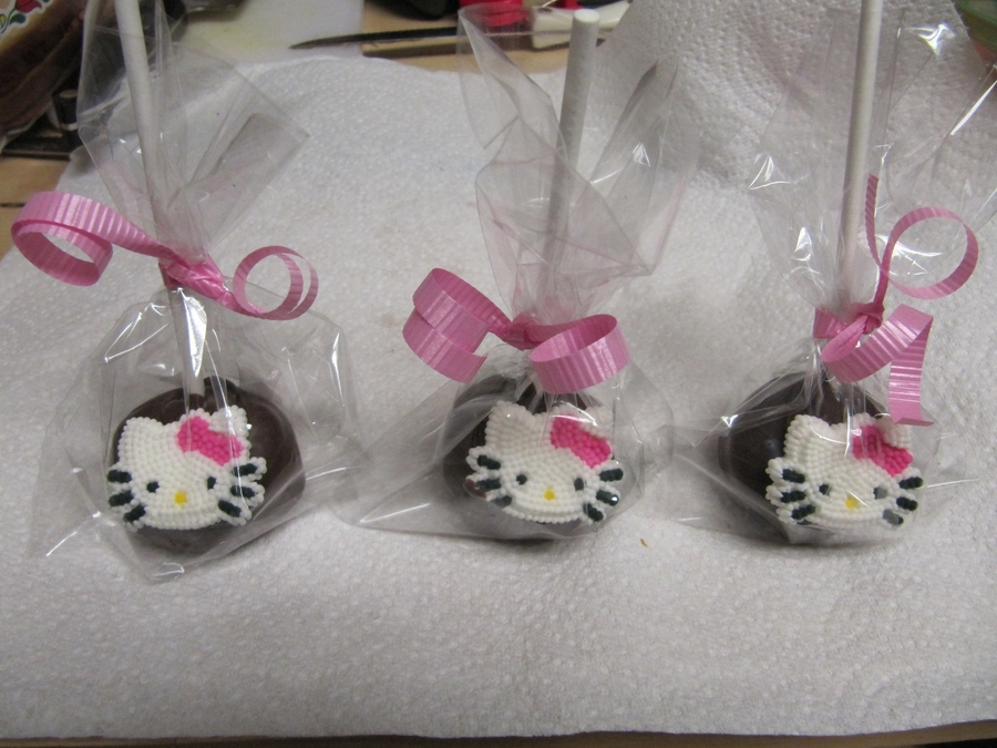 Hello Kitty Cake Pops  on Cake Central