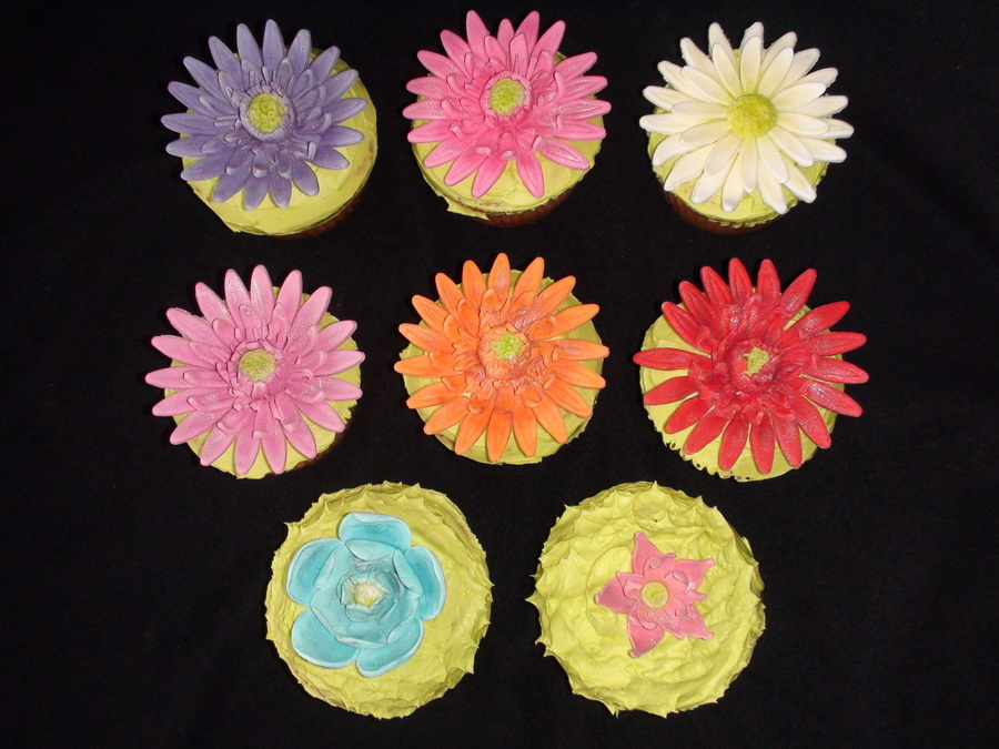 Flower Cupcake on Cake Central
