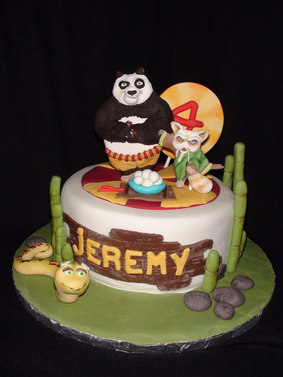 Kung Fu Panda on Cake Central