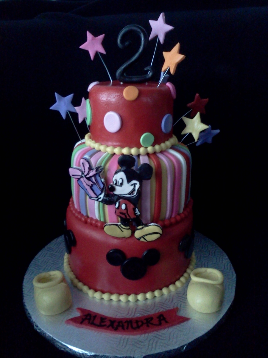 Michey Mouse on Cake Central