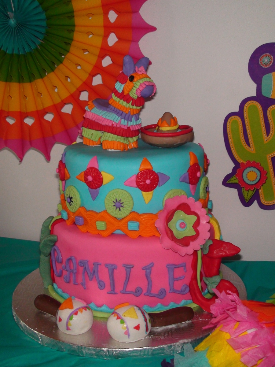 Mexican Fiesta on Cake Central