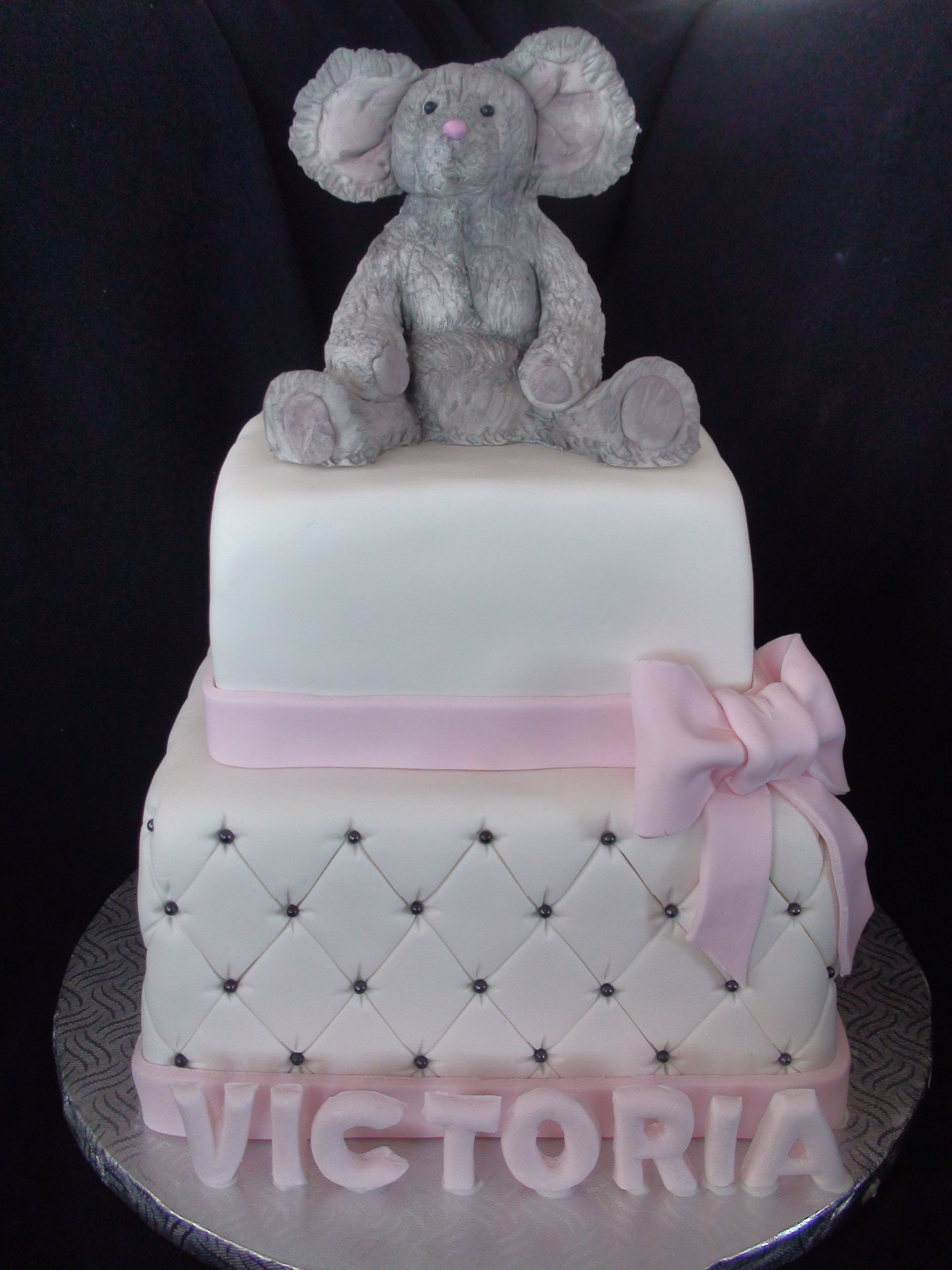 Baptism Mouse Cake on Cake Central